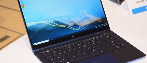 HP Elite Dragonfly 斜めから